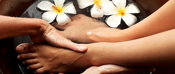 pedicures at top beaty salon in newcastle