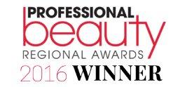 professional beauty winner 2016 - City Retreat Beauty Salons in Newcastle, Gosforth, Jesmond