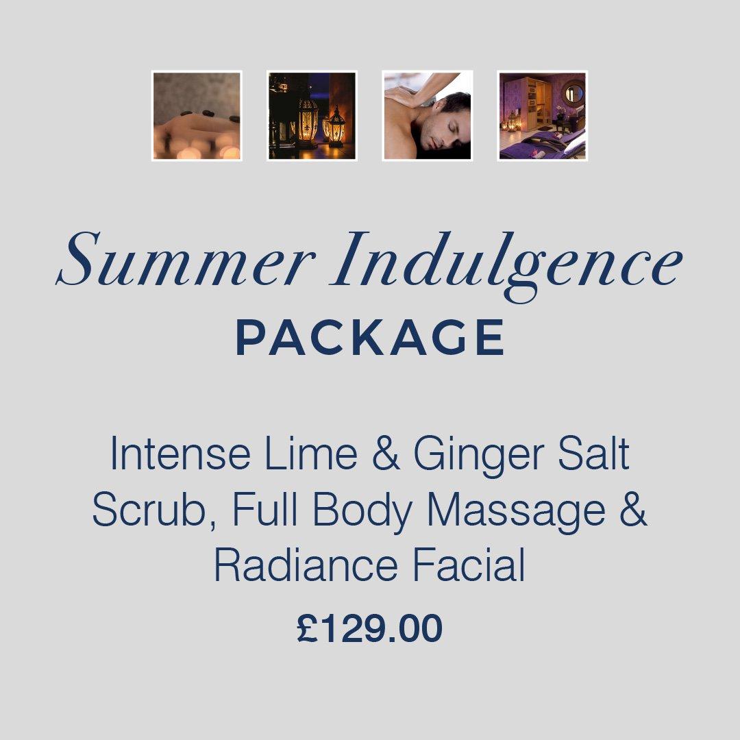 Summer Indulgence Package