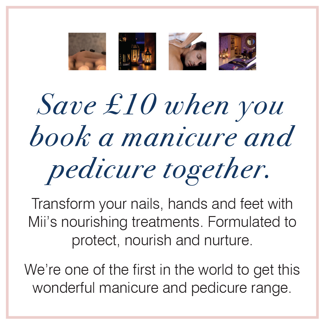 Save £10 When You Book A Manicure & Pedicure Together