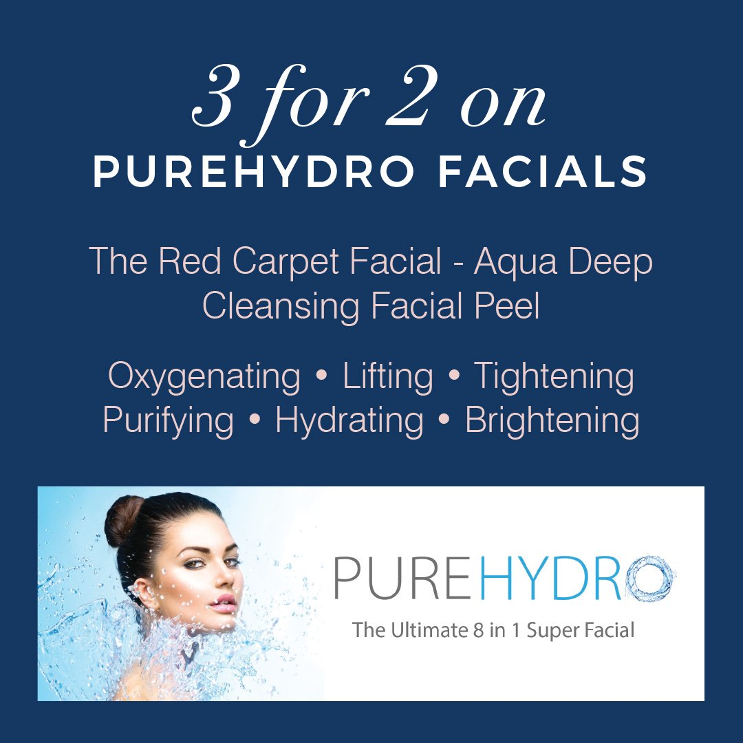 3 For 2 On PureHydro Facials